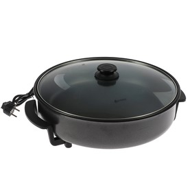 Электросковорода 'ВАСИЛИСА' ВА-802, 1500 Вт, d=40 см, глубина 7 см, черная Ош