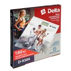 """Весы напольные DELTA D-9304, электронные, до 180 кг, 2хААА, стекло, картинка """"тренировка"""" - Фото 7"""