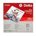 """Весы напольные DELTA D-9304, электронные, до 180 кг, 2хААА, стекло, картинка """"тренировка"""" - Фото 8"""