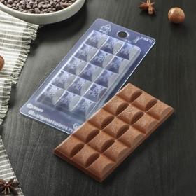 """Форма для шоколада 7×15×1 см """"Воздушный"""""""