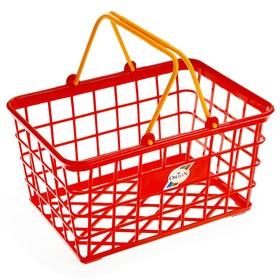 Корзина для супермаркета, малая, цвета МИКС Ош