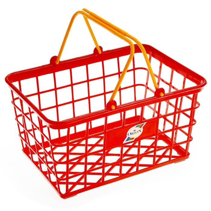 Корзина для супермаркета, малая, цвета МИКС
