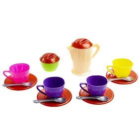 Набор посуды, в сетке, цвета МИКС