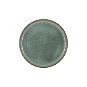 Тарелка закусочная Comet, цвет морская волна, 21,5 см