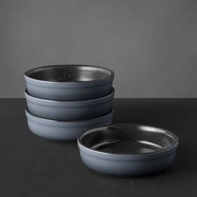 Набор форм порционных для крем брюле Gem 12.5x12.5x3.5 см, 4 предмета