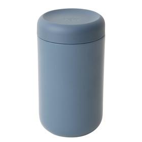 Пищевой контейнер с эффектом термоса, 750 мл, синий