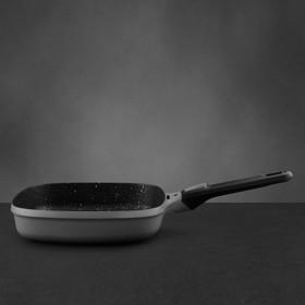 Сковорода гриль Gem grey,24 см, 2.3 л