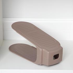 Подставка для хранения обуви, 26,5×13×13 см, цвет МИКС Ош