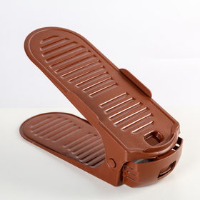 Подставка для хранения обуви регулируемая DDSTYLE, 30×10,5×8 см, цвет МИКС Ош
