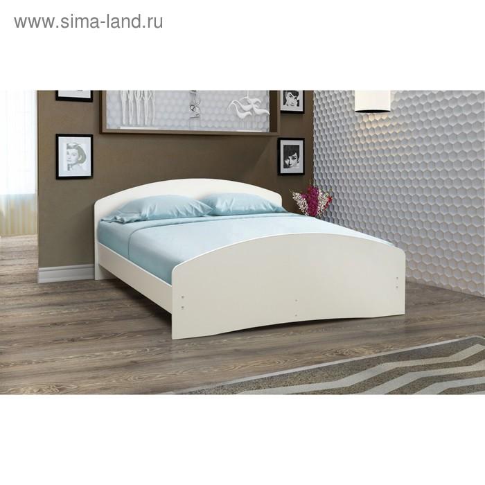 Кровать на уголках №2, 1400 × 2000 мм, цвет белый