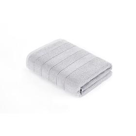 Полотенце Milano, размер 50 × 90 см, махра, цвет холодный серый