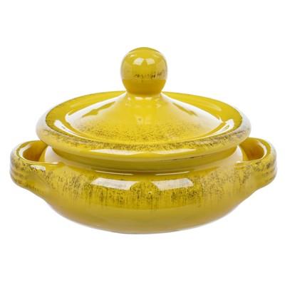 Кастрюля с крышкой «Джалло», 15.5 см, 0.7 л, с 2-мя ручками - Фото 1