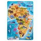 """Пазл в рамке """"Африка"""", 53 элемента"""