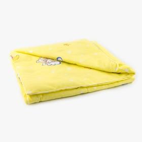 Одеяло, размер 110х140 см, бязь/холлофайбер Ош