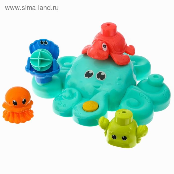 УЦЕНКА Набор для игры в ванной «Осьминожка и друзья»