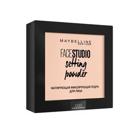 Пудра Maybelline Face Studio Setting Powder, фиксирующая, тон 006, розово-бежевый
