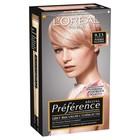 Краска для волос L'Oreal Preference Recital «Розовая платина», тон 9.23, очень светло-русый розово-перламутровый