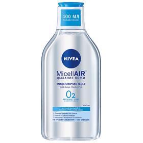 Мицеллярная вода Nivea Micell Air, для нормальной и комбинированной кожи, 400 мл