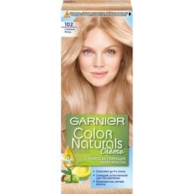 Краска для волос Garnier Color Naturals, тон 102, снежный блонд