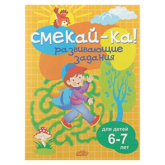 Развивающие задания для детей 6-7 лет, Бортникова Е. Ф.