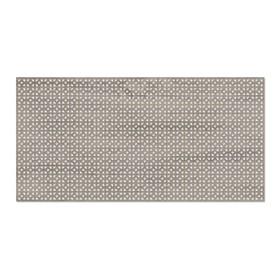 Панель декоративная перфорированная, без рамки, Сусанна, дуб винтаж, 1112х512 мм Ош