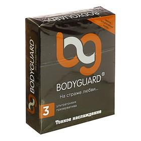 Презервативы Bodyguard Тонкое наслаждение, 3 шт. в упак. Ош