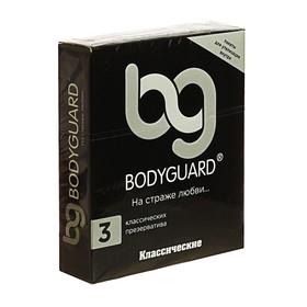 Презервативы Bodyguard Классические, 3 шт. в упак. Ош