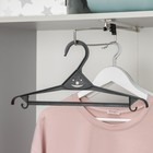 Вешалка-плечики для верхней одежды, размер 40-42, цвет МИКС