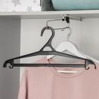 Плечики для верхней одежды, размер 48-50, цвет чёрный