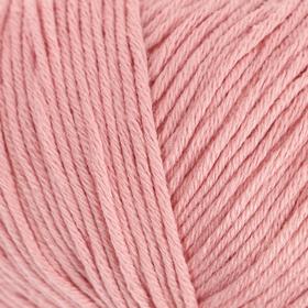 """Пряжа """"Organic Baby Cotton"""" 100% хлопок 115м/50гр (425 розовый)"""