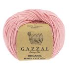 "Пряжа ""Organic Baby Cotton"" 100% хлопок 115м/50гр (425 розовый) - Фото 2"