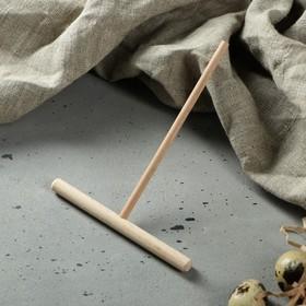 Лопатка для приготовления блинов, 150х120 мм, бук Ош