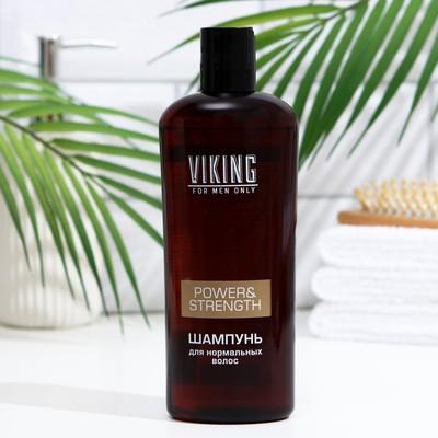 Шампунь Viking для нормальных волос Power&Strength, 300 мл - Фото 1