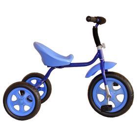 """Велосипед трехколесный Лучик Малют 4, колеса EVA  10""""/8"""", цвет синий"""