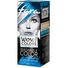 Оттеночный крем для волос Fara WOW Colors синий, смываемый, 80 мл