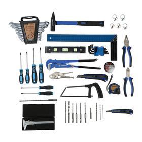 Набор инструментов в ящике TUNDRA comfort, универсальный, 92 предмета Ош