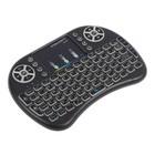 Беспроводная мини-клавиатура Атом АТ-103, тачпад, универсальная, 2.4 ГГц, до 10 м, черная