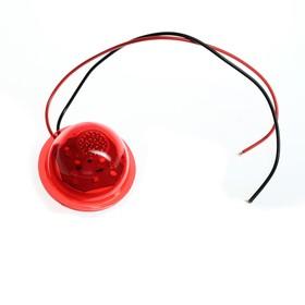 Указатель габаритов E-101, LED, 12 В,  красный Ош