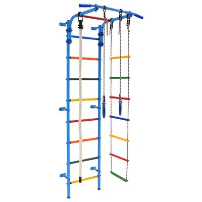Детский спортивный комплекс Start 3, 700 × 470 × 2050 мм, цвет голубой/радуга