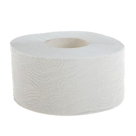 Туалетная бумага Helper «Джамбо», серая, 150 метров, 1 слой