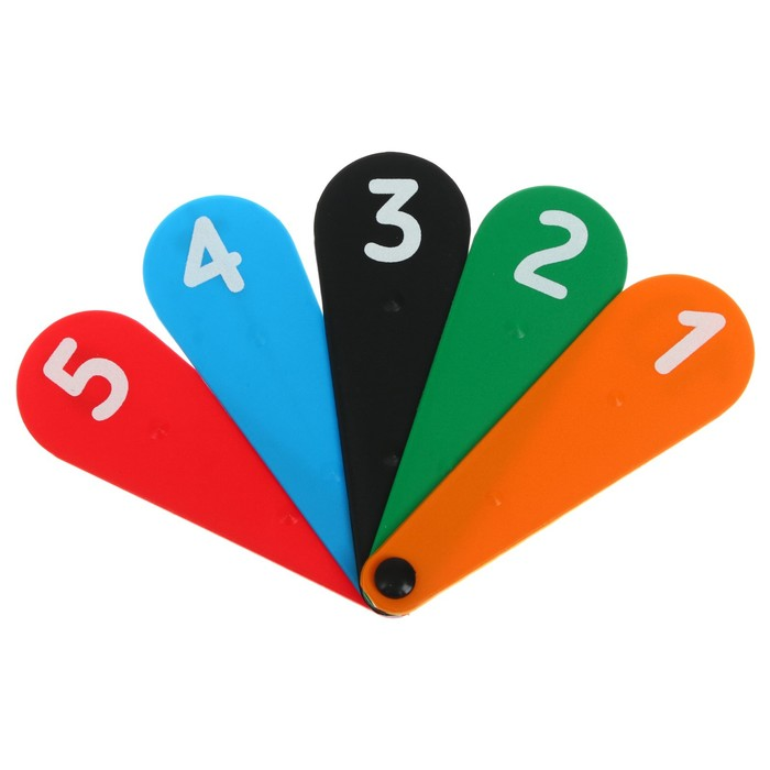 Касса «Веер», цифры от 0 до 9