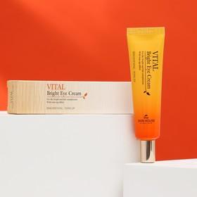 Витаминизированный осветляющий крем для кожи вокруг глаз The Skin House Vital Bright, 30 мл