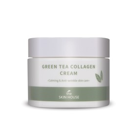 Успокаивающий крем The Skin House, на основе коллагена и экстракта зелёного чая, 50 мл
