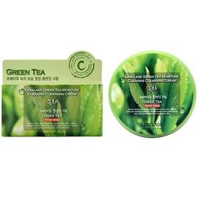 Очищающий крем для снятия макияжа Lebelage, с экстрактом зелёного чая, 300 мл