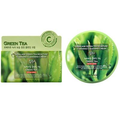 Очищающий крем для снятия макияжа Lebelage, с экстрактом зелёного чая, 300 мл - Фото 1
