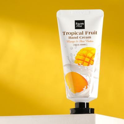 Крем для рук FarmStay «Тропические фрукты», с манго и маслом Ши, 50 мл - Фото 1