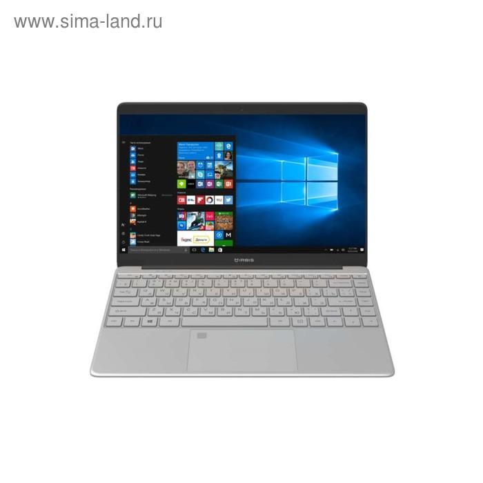 "Ноутбук IRBIS NB245s, 14.1"", 1920x1080, Cel N3350, 4 Гб, SSD 32 Гб, HD500, W10, цвет серебро"