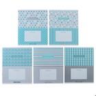 Тетрадь 12 листов линейка «Узор. Best pattern», обложка мелованный картон, ВД-лак, МИКС