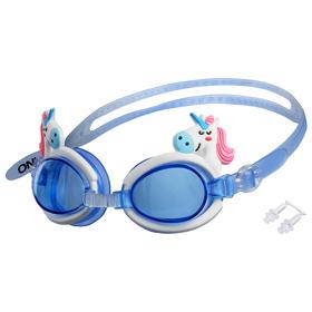 Очки для плавания «Единорог», детские, цвета МИКС Ош