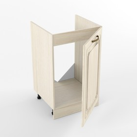 Шкаф под мойку с дверью Премьера, 473х500х850, Грецкий орех Ош